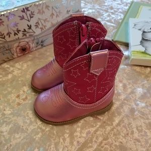 Oshkosh Cowgirl Boots! 🌻